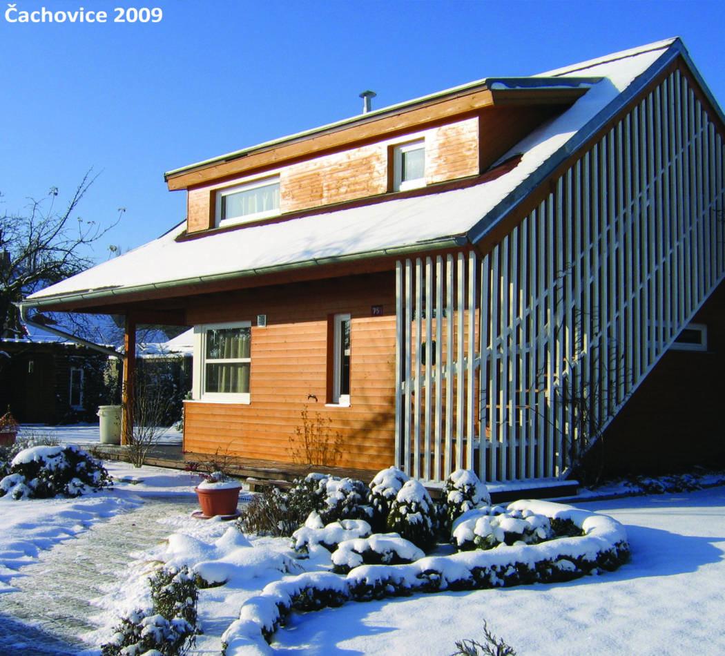 Bungalow v zimě 2009